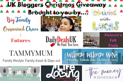 Logos of even more bloggers involved in the big giveaway