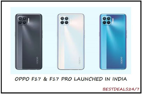 Oppo F17 & F17 Pro Launched in India