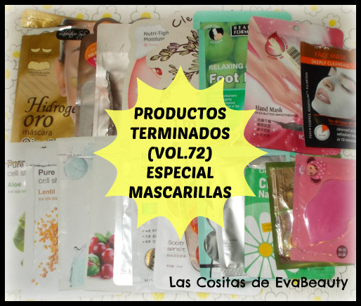 Productos terminados Empties mascarillas/mask low cost opinion