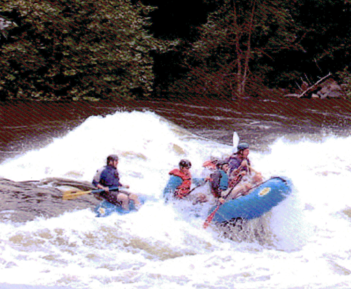 Coloring The News: Into The Same River: A Whitewater Tragedy