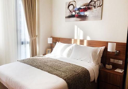 Hanson Court Suites Type C Bedroom