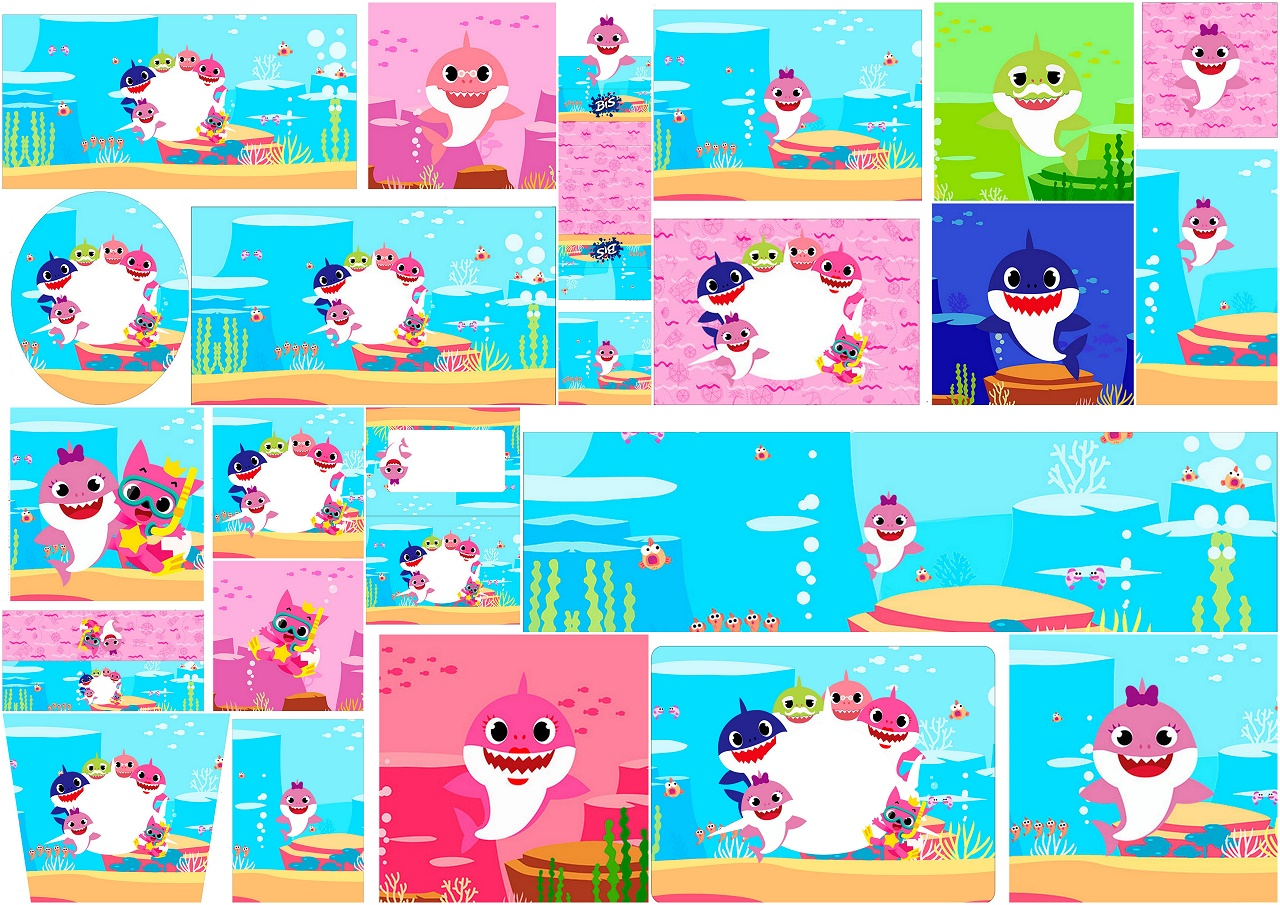 photograph regarding Printable Candy Labels named Boy or girl Shark: No cost Printable Sweet Buffet Labels. - Oh My Boy or girl!