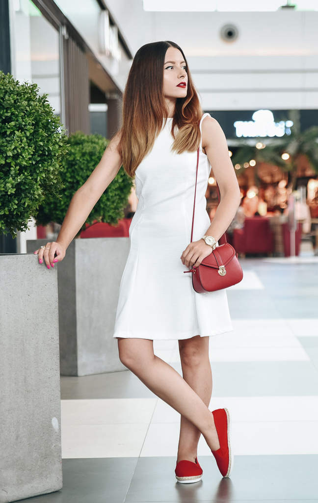 adina nanes white asos dress