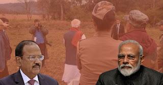 Jim national corbate park film shooting of pulvama nrendra modi