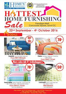 Home's Harmony Sale 2016.