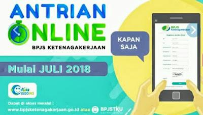 Layanan Antrian Online BPJS Ketenagakerjaan