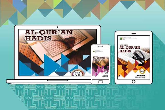 Buku Al Quran Hadis MTs 2019