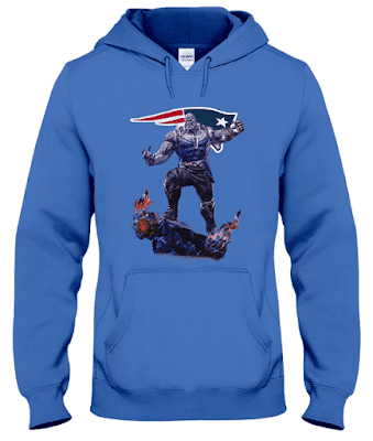 New England Patriots Thanos Infinity War Hoodie