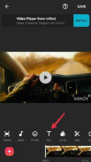 Cara Menambahkan Subtitle dalam Video menggunakan Inshot