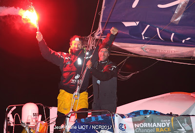 Phil Sharp et Pablo Santurde remportent la Normandy Channel Race