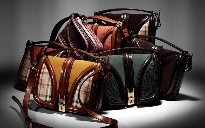Burberry Autumn Winter 2012 Accessories Collection. New season accessories  featuring textured suede bags d8645ac72ff12