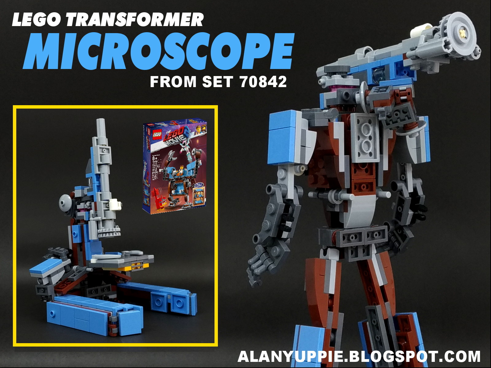 Alanyuppie's LEGO Transformers: Instructions for LEGO