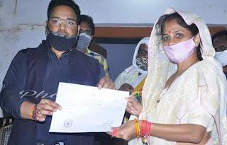 क्षेत्र का विकास व खुशहाली हमारी प्राथमिकता:श्रीकला सिंह    #NayaSaberaNetwork