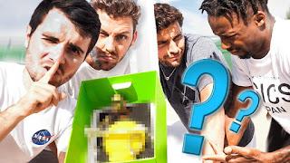 CHALLENGE LIE BOX ! with Pierre Croce, Gaël Monfils & Gilles Simon