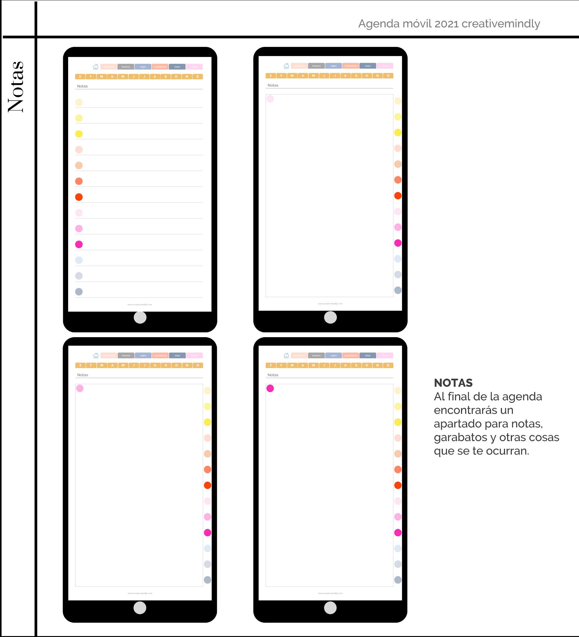 agenda movil iphone 2021
