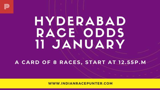 Hyderabad Race Odds 11 January