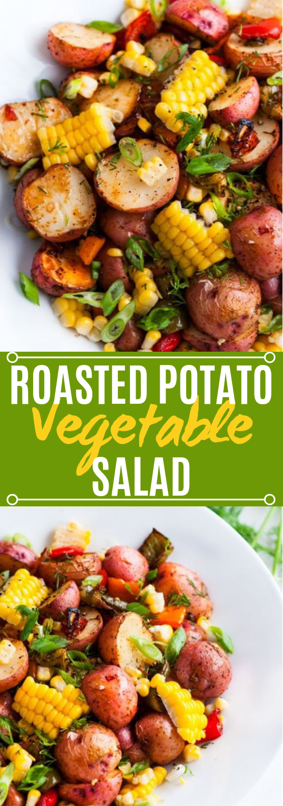 Southwest Roasted Potato Salad #vegan #salad
