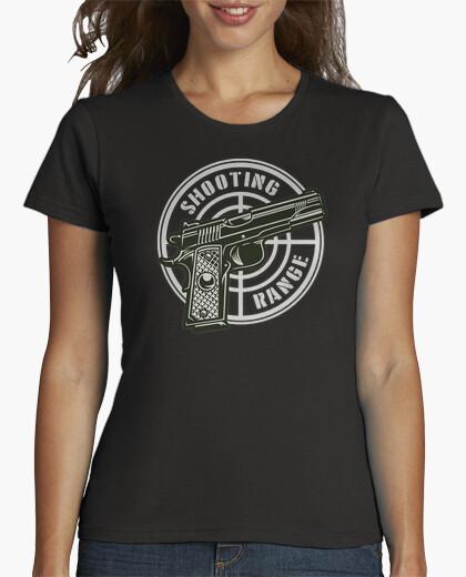 Camisetas Mujer - Diseño Shooting Range