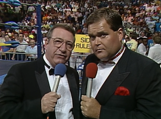 WCW Great American Bash 1990 - Jim Ross and Bob Caudle called the event