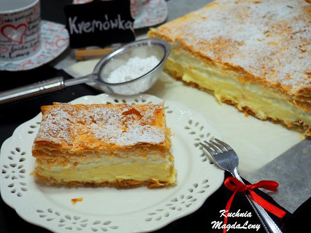 Ciasto kremówka