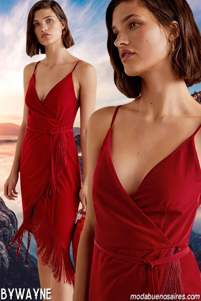 Vestidos primavera verano 2020 estilo casual urbano. Moda primavera verano 2020 mujer.