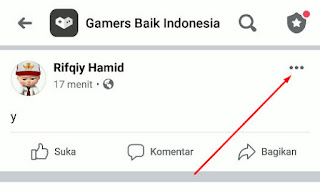Cara Menyembunyikan Komentar Facebook