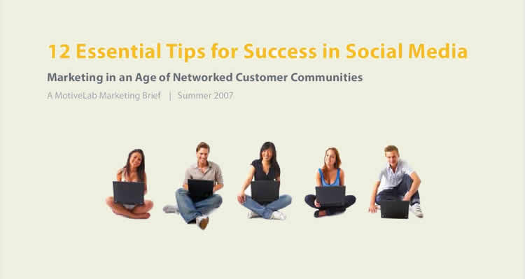 Social Media Marketing: 12 Essential Tips for Success - 100% Free