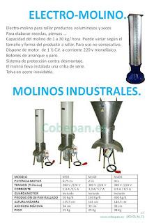 Molinos industriales PAN, Electro Molinos.