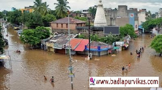 Sangli (Maharashtra Development Media) - An elderly person stuck in Sangli flood for the last 4 days has died today. Lingapa Handgi (age 74) is the name of such a deceased elder. Relatives have alleged that he died due to not receiving treatment on time. Thousands of people are still stuck in it due to flood situation in Sangli-Krishna river since last 5 days. These flood victims are still not getting help, due to which the flood victims of this area are dying of death. The family was stuck in the apartment next to Ganeshmurthy of Bagiche, Haripur Saddhat in Sangli. Relatives have alleged that only due to lack of timely treatment, elderly family of that family has died.
