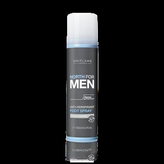 Αποσμητικό Spray Ποδιών North For Men 150ml Κωδικός: 23694 Δίνει Bonus Points: 4