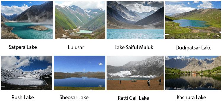 Beautiful Lakes in Pakistan