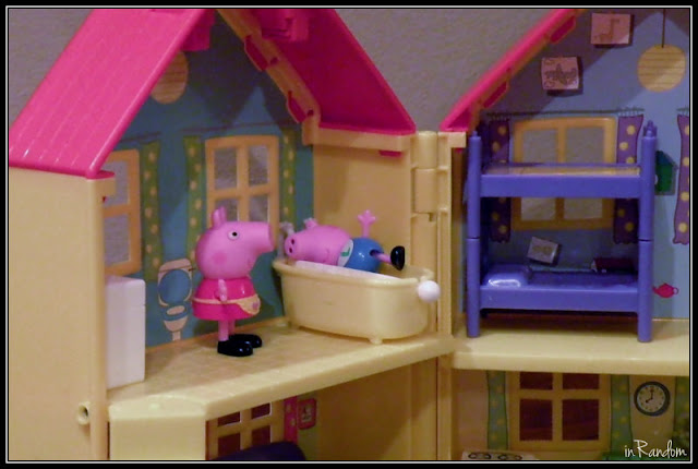 Peppa and George in the Playhouse