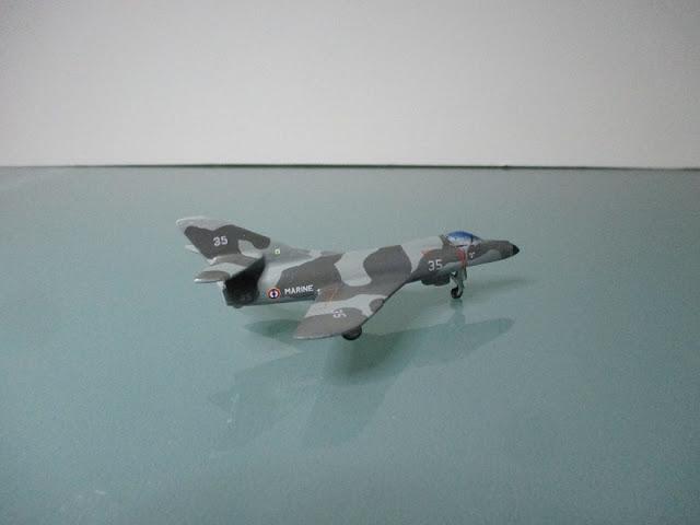 1/144 Dassault Super Etendard diecast metal aircraft miniature