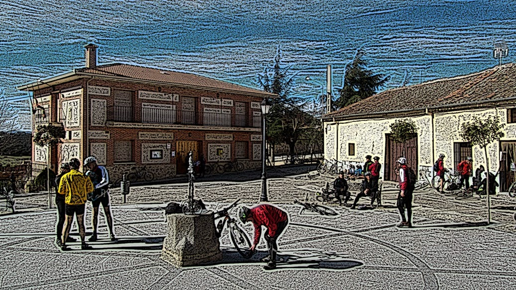 MTB por Villacastín - Lo que el Viento se llevó