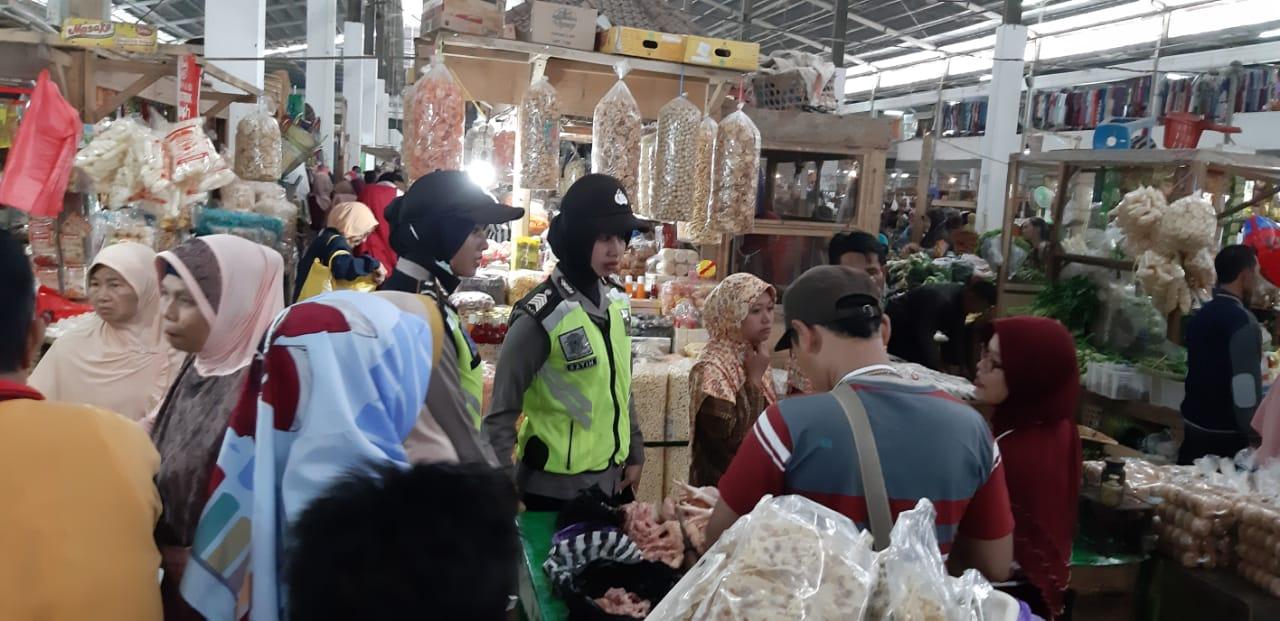Rawan Peredaran Uang Palsu, Polres Kebumen Awasi Pasar Tradisional