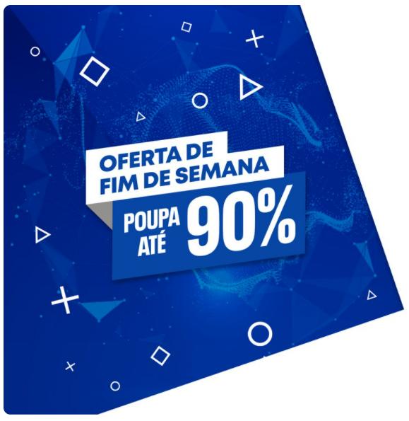 """Campanha """"Oferta de Fim de Semana"""" já disponível na PlayStation®Store"""