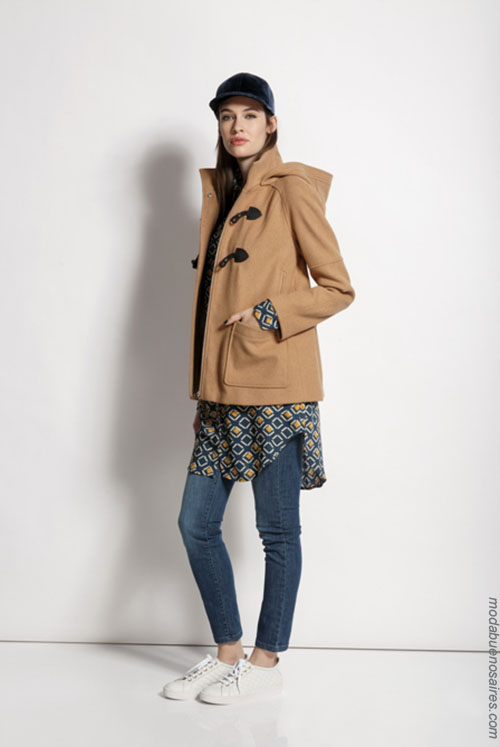 Looks tendencia de moda otoño invierno 2018 mujer.
