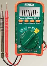 Jual Extech Pocket Multimeter Dm110 Manual Harga Murah