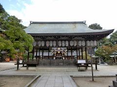 今宮神社舞殿
