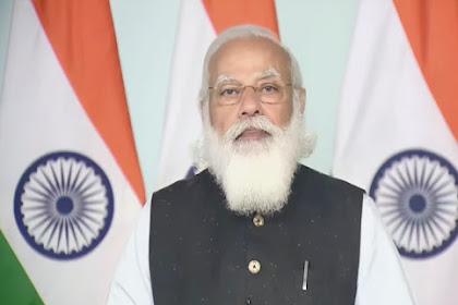 आजादी के 75 साल पूरे होने पर अमृत महोत्सव मनाया जाएगा: प्रधानमंत्री मोदी