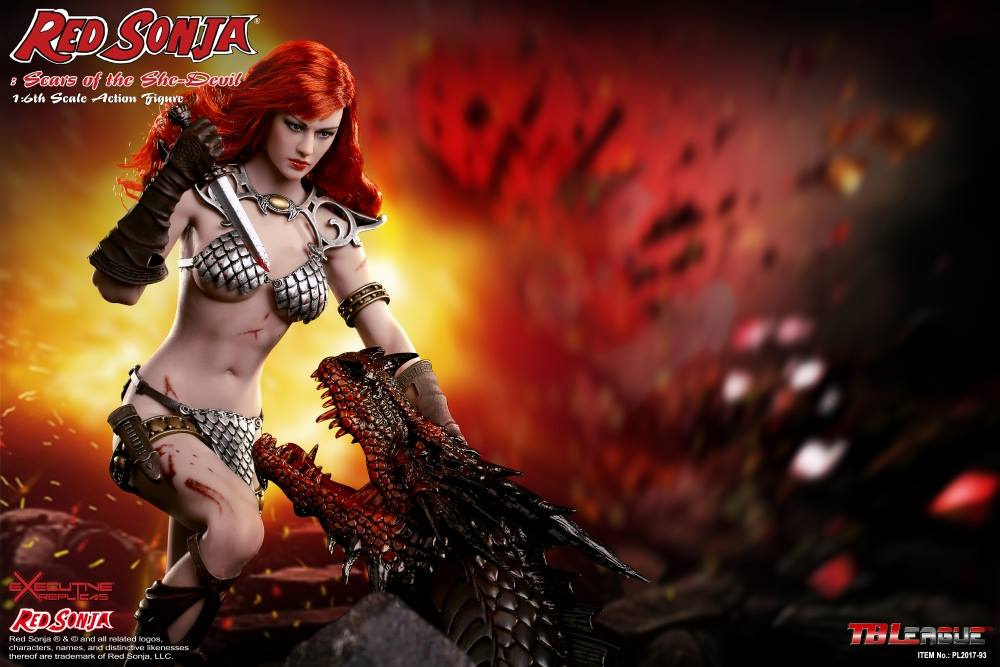 PHICEN - Red Sonja: Scars of the She-Devil  13