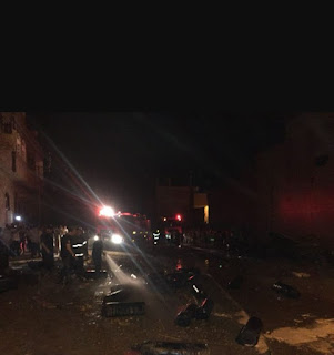 حريق هائل على 5 أفدنة في الفيوم  مما أسفر عن مصرع طالب وفلاح،  وبلغت الخسائر 4 ملايين جنيه.