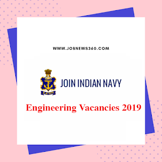 Indian Navy Recruitment 2019 for Engineering Candidates (102 Vacancies)