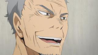 ハイキュー!! アニメ 2期12話 烏養一繋 | HAIKYU!!  Ohgiminami high vs Karasuno
