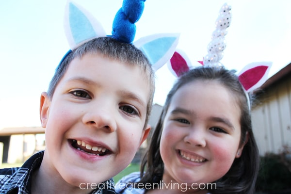 how to make a DIY unicorn headband with free pattern