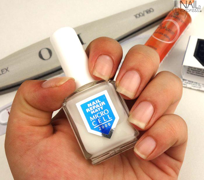 Izdelek, ki je rešil moje nohte_Microcell 2000-nail repair matt
