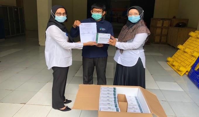 Dinkes Banten Berikan 1000 Pcs Rapid Antibodi ke Rutan Serang