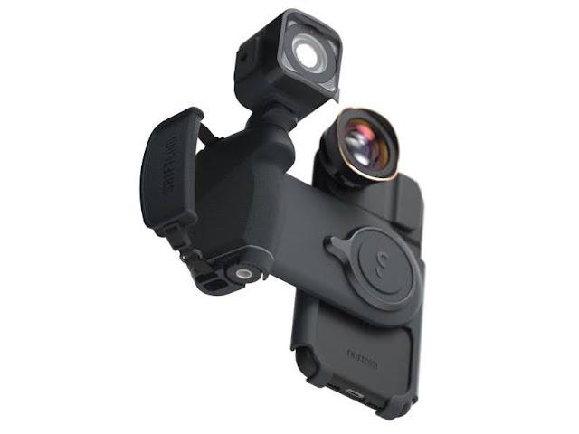 【攝影器材】手機就是專業相機,ShiftCam ProGrip 手機攝影全新體驗 - 近似相機的擴充能力,有冷靴座、1/4 英吋底座、腕帶孔