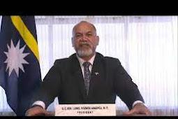 Inilah Pidato Presiden Nauru, Lionel Rouwen Aingimea Saat Berbicara di Debat Umum PBB ke 75