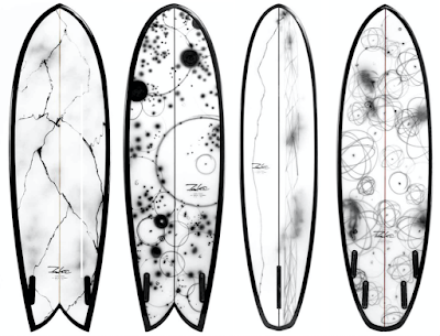 Futuras Surfboards Art Wave